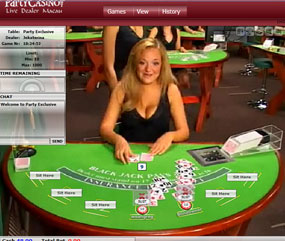 Live black jack online casino riverrock casino new years